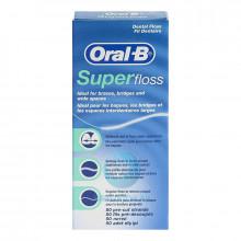 Зубная нить Oral-B Super Floss, 50 шт в Краснодаре