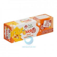 Зубная паста Twin Lotus Kids (апельсин и гранат) 3-10 лет, 50 гр в Краснодаре