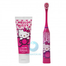 Набор Hello Kitty зубная щетка + зубная паста в Краснодаре