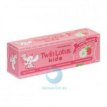 Зубная паста Twin Lotus Kids (клубника и ромашка) 3-10 лет, 50 гр в Краснодаре