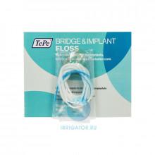 TePe Зубная нить Bridge & Implant Floss (5) в Краснодаре