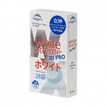 Отбеливающие полоски Megami White Xtreme 3D PRO, 28шт в Краснодаре
