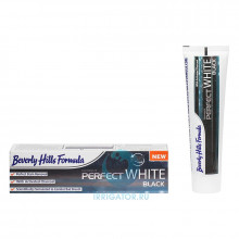 Зубная паста Beverly Hills Formulа Perfect White Black, 100 мл в Краснодаре