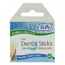 Зубочистки TePe Wooden Fluoride, 160 шт в Краснодаре
