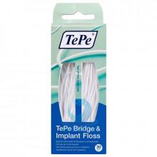 Зубная нить TePe Bridge&Imlant Floss, 30 шт в Краснодаре