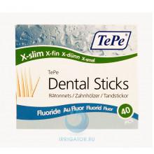 Зубочистки TePe Wooden Fluoride, 40 шт в Краснодаре