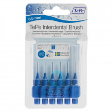 Ершики TePe Interdental Brush 0.6 мм Blue в Краснодаре