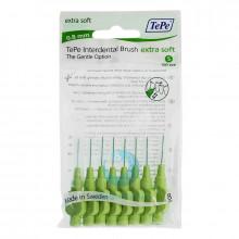 Ершики TePe Interdental Brush extra soft 0.8 мм Green в Краснодаре
