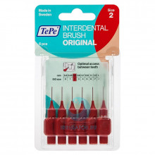 Ершики TePe Interdental Brush 0.5 мм Red в Краснодаре
