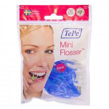 Зубная нить TePe Mini Flosser с держателем, 36 шт в Краснодаре