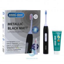 Ультразвуковая зубная щетка Emmi-Dent 6 Professional Black Matt черная матовая в Краснодаре