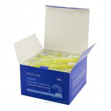Набор зубных щеток Revyline с нанесенной зубной пастой, 100 шт в Краснодаре