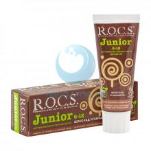 Зубная паста R.O.C.S. Junior Шоколад и карамель 6-12 лет, 60 мл. в Краснодаре