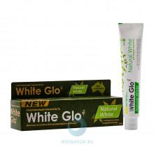 Зубная паста White Glo Natural White Отбеливающая, 100г в Краснодаре