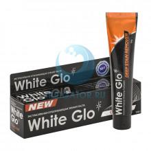 Зубная паста White Glo отбеливающая экстрасильная с углем, 100 гр  в Краснодаре
